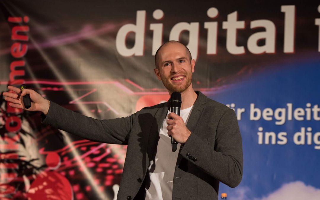 Frank Eilers – Infotainment Speaker zu New Work und Digitalisierung