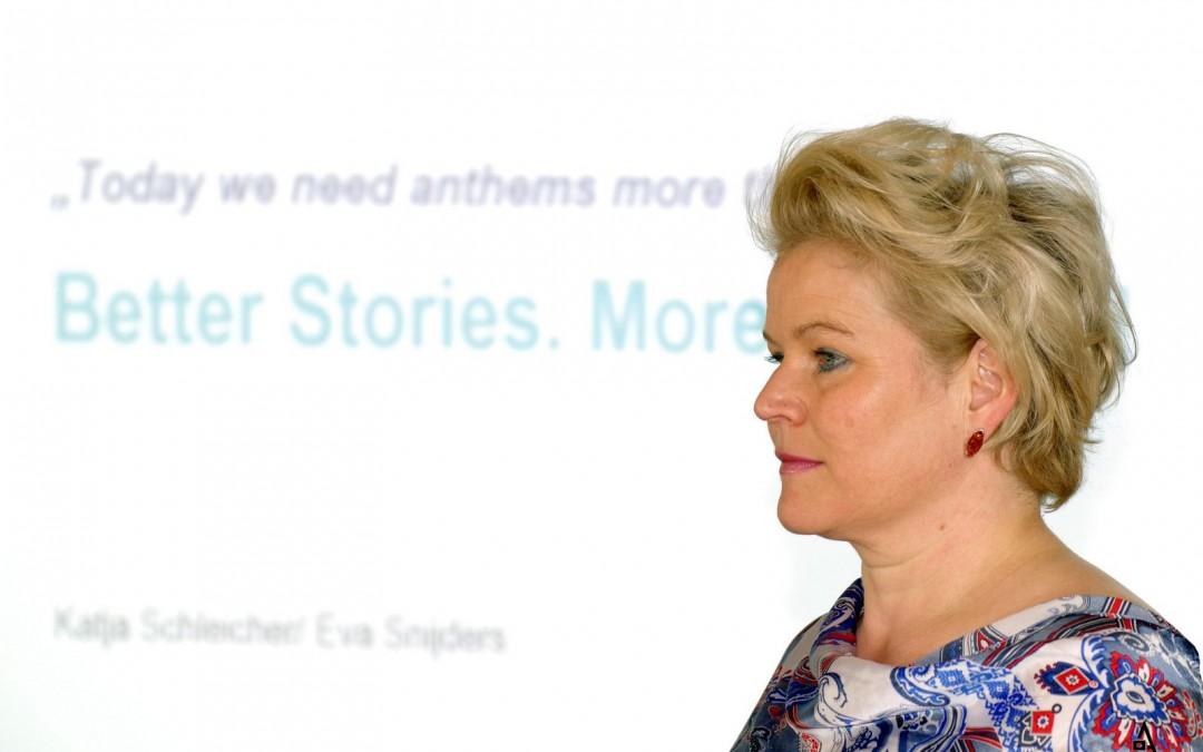 Katja Schleicher bringt Menschen zum Reden