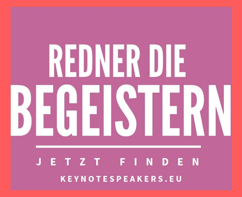 Startup Speakers – Redner für Konferenzen & Innovationsworkshops
