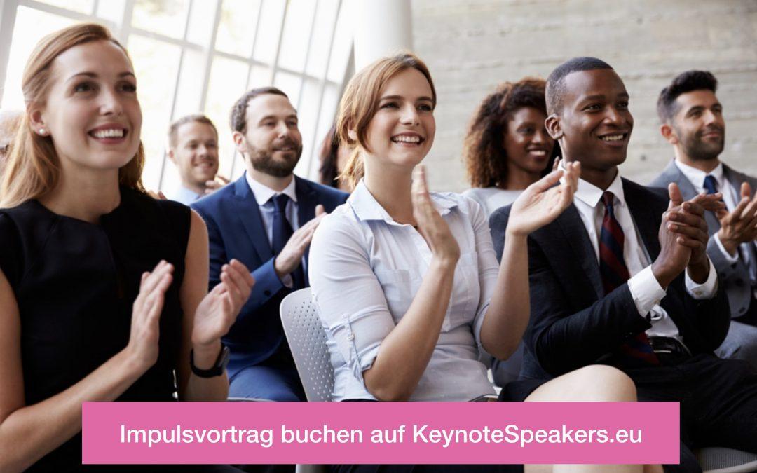 Impulsvortrag Redner für Ihr Event finden und buchen